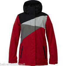 DC FUSE 15 JACKET WOMEN'S RIO RED MEDIUM (M) BRAND NEW WITH TAGS