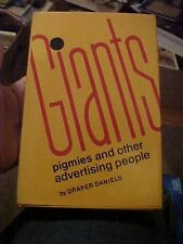 1974 Book Giants Pigmies & Other Advertising People by Draper Daniels