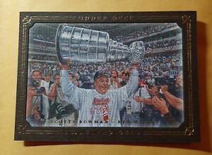 SCOTTY BOWMAN 2008-09 UD MASTERPIECES BROWN PARALLEL DETROIT RED WINGS # 44 MINT