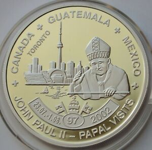 5 Kwacha Malawi 2011 John Paul II, Canada, Guatemala, Mexico visit 2002, # 97