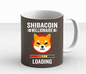 Shiba Inu Coin MILLIONAIRE Hodl $Shib Token Shiba Inu Crypto  Coffee Mug