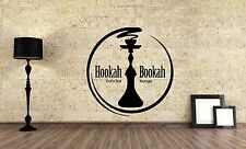 Wall Vinyl Sticker Decal Focus Room Decor Interior Hookah Bar Bong Kalian VY480