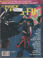 Inside Kung-Fu November 1986 La Man Kan, William Cheung VG 021616DBE