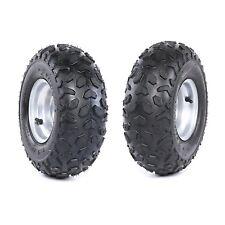 145/70-6 6'' Wheel Tire Rim LEFT RIGHT 50 70 90 110cc Taotao Quad ATV Go Kart x2