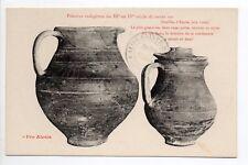 ALESIA pro-alésia CPA 21 fouilles gallo-romaines vases poterie indigene