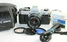 Canon AE-1 Classic 35mm SLR Film Camera with Canon FD 1:1.8 50mm Prime Lens