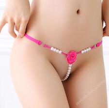 sexy GLAS perles string tanga ouvert Slip lingerie érotique SLIP S M L XL FERANI