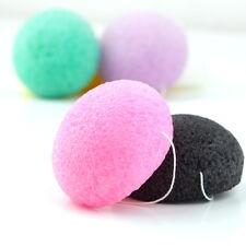 Natural Konjac Konnyaku Fiber Face Wash Cleansing Sponge Puff ExfoliatorXF
