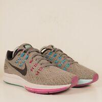 Nike Zoom Structure 19 Grey Purple Blue Running Shoes 806585-005 Women's Sz 9.5