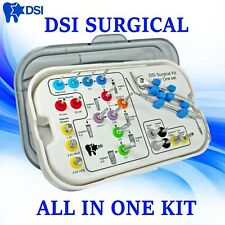 Dsi Dental Implant Abutment Universal Surgical Drills Instrument Tools Kit 23pcs
