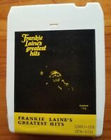 Frankie Laine's Greatest Hits 8-track seviced