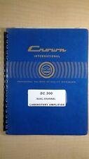 Crown Dc-300 Dual Channel Laboratory Amplifier Manual 8E B1