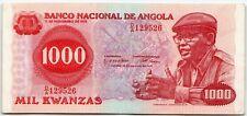 Angola 1000 Kwanzas 1979 P-117 Banknote - n870