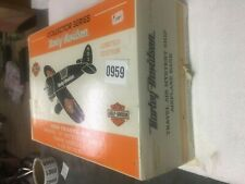 HARLEY DAVIDSON Diecast 1929 Travel Air Model Airplane BANK 1:32 Scale NEW in BX