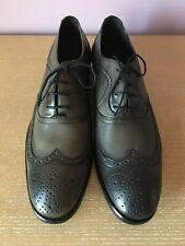 $598 New John Varvatos Men's Leather Richards Wingtip Shoes Lace Up Oxfords Sz 9