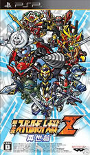 Used PSP Dai-2-Ji 2nd Super Robot Taisen Z Saisei  SONY PLAYSTATION JAPAN IMPORT