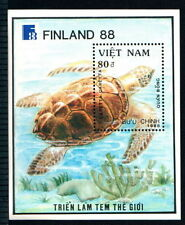 N.567B- Vietnam - Block – Loggerthead turtle 1989