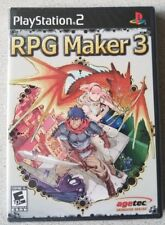 RPG Maker 3 (Sony PlayStation 2, 2005) - New and Factory Sealed