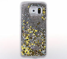 For Samsung galaxy S7 S6 /Note 5 Cover Trend Glitter Star Liquid Back Phone Case