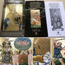 Golden Tarot of Visconti Grand Trumps NEW Never Used Lo Scarabeo OOP 2006