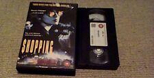 SHOPPING UK BIG BOX VHS PAL VIDEO 1994 SADIE FROST JUDE LAW SEAN BENN