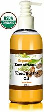 Organic East African Shea Butter Oil; 100% Pure Nilotica for Hair & Skin 8 0z