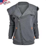 Mens Women USB Heated Jacket Coat Electric Heating Winter Warmer Thermal Hooded