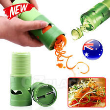 Fruit Vegetable Processor Spiral Slicer Twister Grater Cutter Spirelli Spaghetti