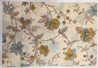 Vintage Marlborough Pillowcase One Only Standard Floral  65Poly/35Cotton USA