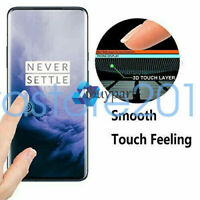 For OnePlus 7 Pro Screen Protector Tempered Glass Film Curved 3D Full Cover AAA+