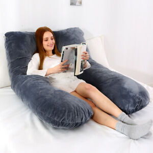 Full Body Pregnancy Pillow for Maternity Pregnant Women U Shape On Side Support