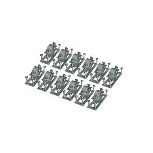 OZCO 52212 WAP-OZ Galvanized Fence Brackets (12-Pack of 50110))