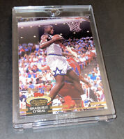 1992-93 Topps Stadium Club Shaquille O'Neal Rookie RC 247 Shaq Topps Rookie NMMT