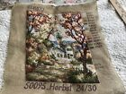 Herbst FALL AUTUMN  Rica- Gobelin Needlepoint 50095 W. Germany Completed
