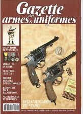 """GAZETTE DES ARMES&UNIFORMES N°211 MEDAILLE DU GOLFE / MUNITIONS """"TUE-TUE"""""""