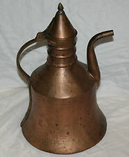 Antique hand hammered Copper Tea Pot