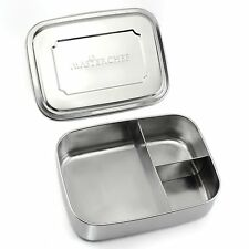 MasterChef Bento Lunch Box - Large, Stainless Steel, Compartment Meal Prep...