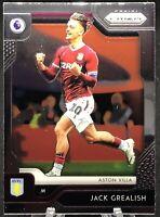 2019-20 Panini Prizm Premier League #270 Jack Grealish Aston Villa