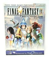 Final Fantasy IX Official Brady Games Strategy Game Guide