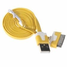 Charging Cable Charger USB Lead for Apple iPhone 4 4S 3GS iPod iPad 2m yellow