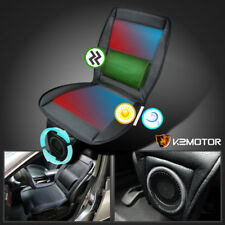 3in1 Cooling Fan+Massager+Heated Seat Cover Cushion Remote Control Car Truck