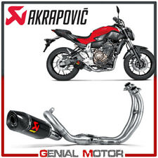 Full System Exhaust Carbon Akrapovic Racing Line for YAMAHA MT 07 2014 > 2019