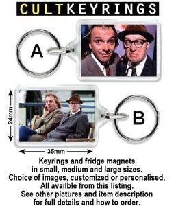 Bottom keyring / fridge magnet - Rik Mayall, Adrian Edmondson, TV comedy