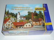 Plastoy HO Bausatz Häuser Dorfset