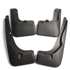 4PCS Black Mud Flaps Splash Guard Fender Front + Rear For Toyota RAV4 2013-2015