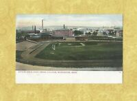 MA Worcester 1901-09 udb antique postcard FITTON FIELD baseball football Mass
