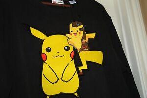 LEVI'S® X POKÉMON UNISEX CREWNECK Pikachu SWEATSHIRT POKEMON 25th Anniversary