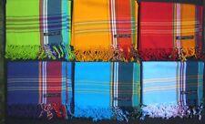 Kikoy Sarong Pareo Überwurf Gewickelt Broad Streifen,Blau Pink Grün Bademode