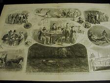 Peter Morris Missing Man DRUNK ROBBED DROWNED DEATH MORGUE1867 Lg Folio Print