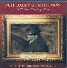 CD SINGLE 2 TITRES--PUFF DADDY & FAITH EVANS--I'LL BE MISSING YOU--1997